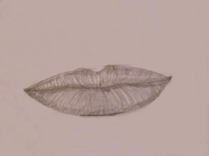 dibujar labios